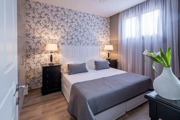 Bedroom in Beach Front Villa at Elounda Gulf Villas and Suites Crete