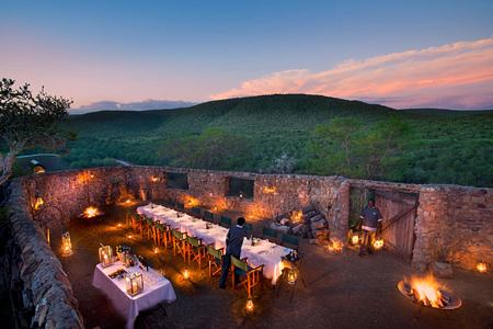 Boma at Great Fish River Lodge South Africa