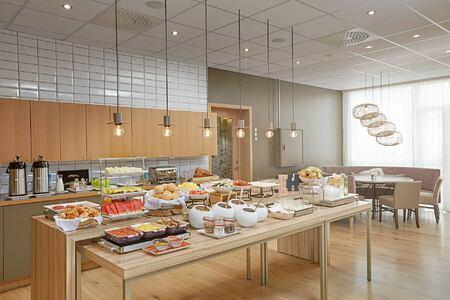 Breakfast at the Aurora at Icelandair Hotel Iceland