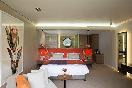 Cabernet room at Mont Rochelle Franschhoek South Africa