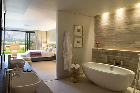 Cap Classique Bathroom at Mont Rochelle Franschhoek South Africa