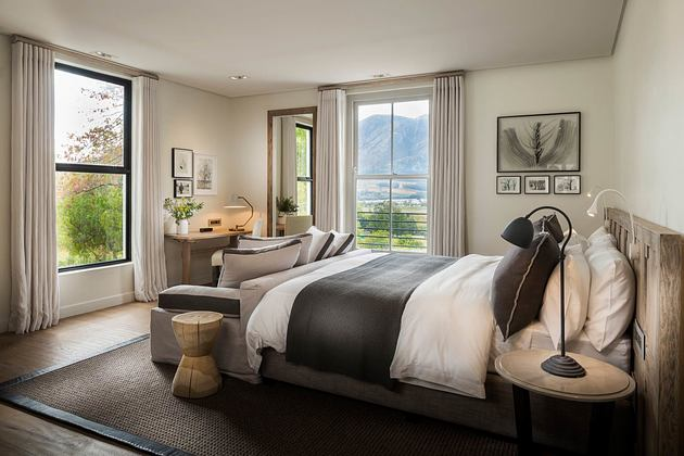 Chardonnay room at Mont Rochelle Franschhoek South Africa