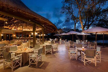 Deer Hunter Restaurant at Constance Belle Mare Mauritius