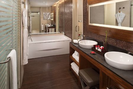 Deluxe Room Bathroom at Redlevel at Gran Melia Tenerife