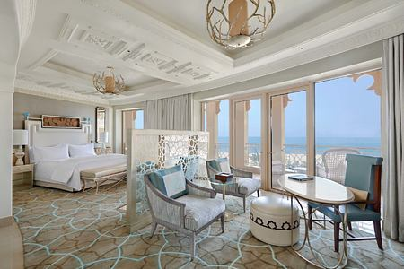 Deluxe Room with seaview at Waldorf Astoria UAE