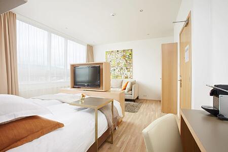Deluxe bedroom at Icelandair Hotel Iceland