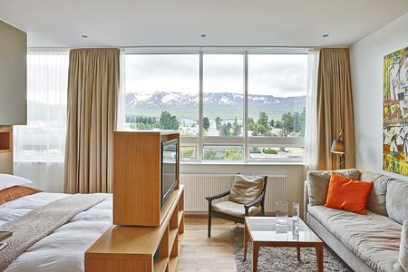 Deluxe room at Icelandair Hotel Iceland