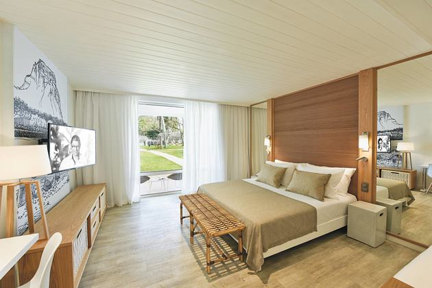 Deluxe room at Le Canonnier Mauritius