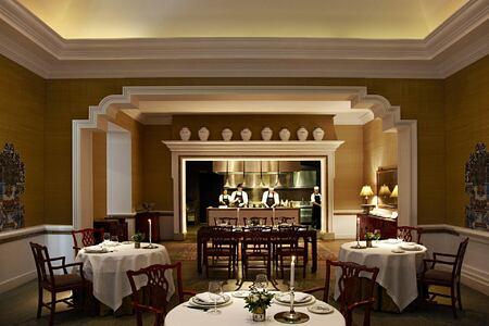 Dining room at Finca Cortesin Spain