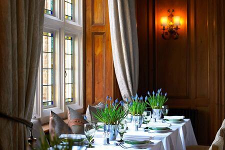 Dining room at Grayshott Spa England