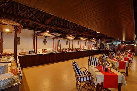 Dining room at Somatheeram Kerala India