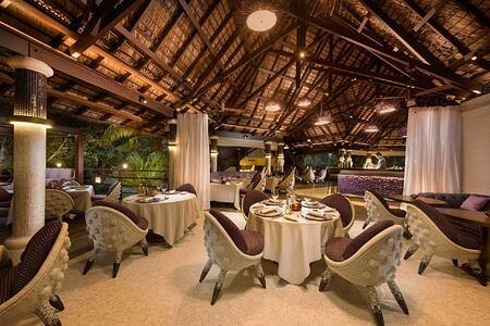 Diva Restaurant at Constance Lemuria Resort Seychelles