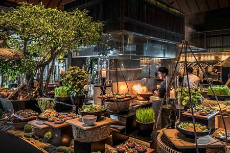Exotic foods at The Nam Hai Vietnam