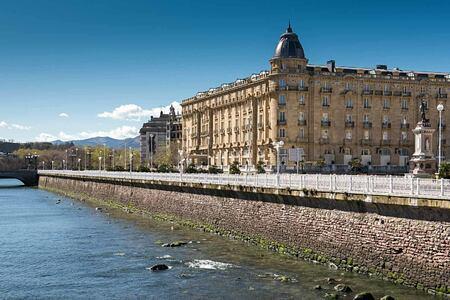 Exterior of Hotel Maria Christina Spain
