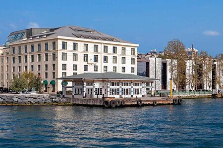 Fascade of Shangri la Bosphorus Turkey
