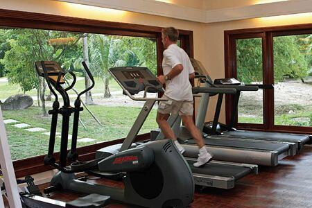 Fitness room at Constance Lemuria Resort Seychelles