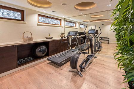 Fitness room at Forza Mare Montenegro