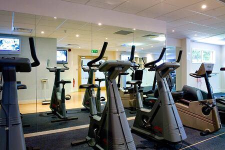 Fitness room at Grayshott Spa England