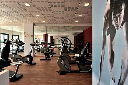 Fitness room at Sofitel Thalassa Agadir Morocco