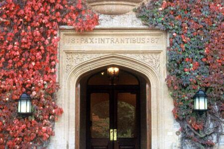 Front Entrance at Grayshott Spa England