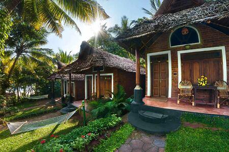 Garden Cottage at Somatheeram Kerala India