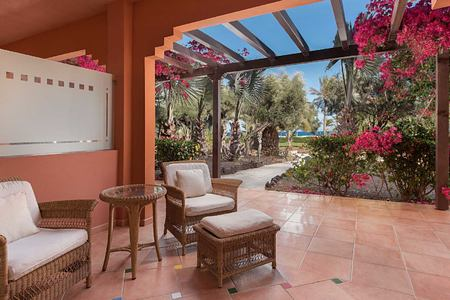 Garden floor Terrace at Sheraton Fuerteventura Spain