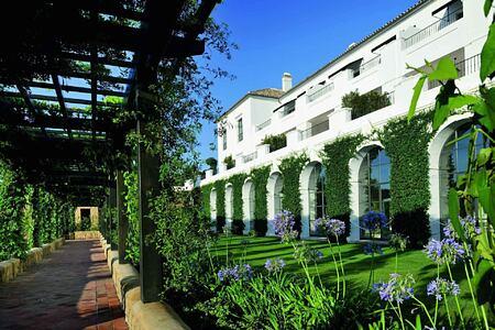 Gardens at Finca Cortesin Spain