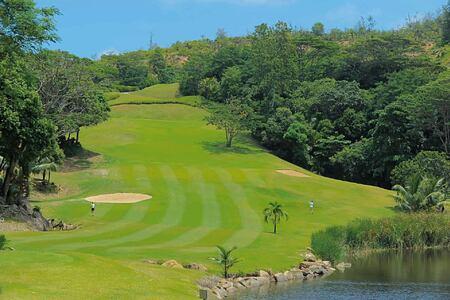 Golf course at Constance Lemuria Resort Seychelles