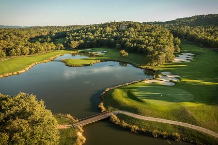 Golf course at Terre Blanche Golf and Spa Resort France