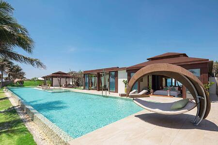 Grand Beachfront Villa at Fusion Resort Cam Ranh Vietnam