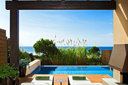 Grand Infinity Suite Sea Terrace at Romanos Costa Navarino Greece