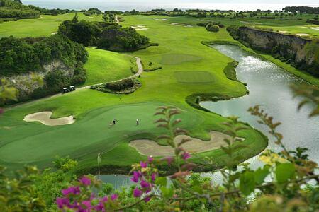 Green Monkey Course at Sandy Lane Barbados