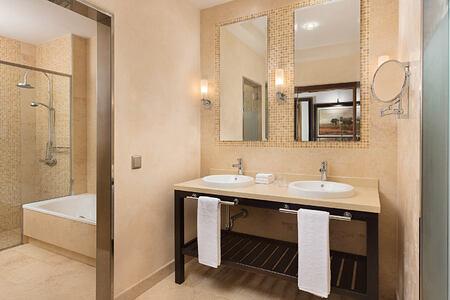 Guest Bathroom at Sheraton Fuerteventura Spain