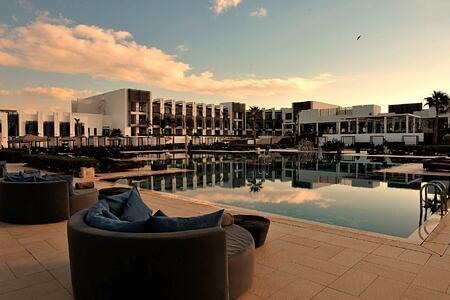 Hotel and pool at Sofitel Thalassa Agadir Morocco