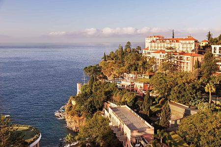 Hotel overlooking the sea at Belmond Reids Palace Madeira Portugal