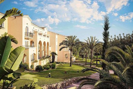 Hotel view of la Manga Club Spain