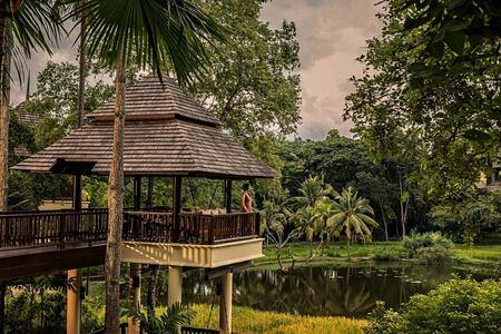 Idyllic view at Four Seasons Chiang Mai Thailand