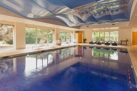 Indoor pool at Grayshott Spa England