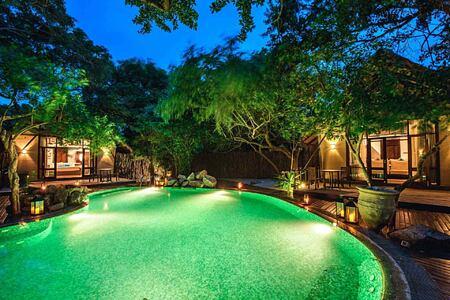 Jungle Cluster Pool at Jungle Beach Sri Lanka