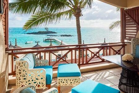 Junior Suite Terrace View at Constance Belle Mare Mauritius