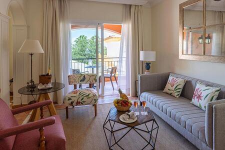 Junior Suite living area at Gran Hotel Bahia del Duque Tenerife Spain