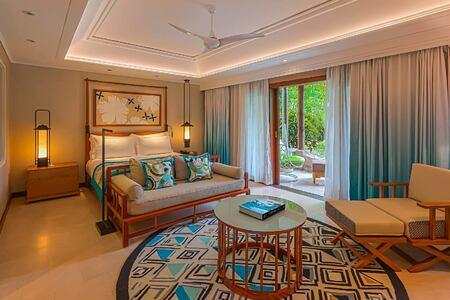 Junior suite at Constance Lemuria Resort Seychelles