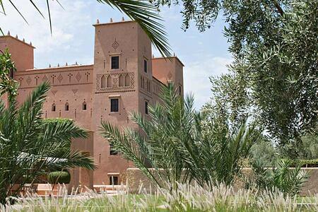 Kasbah at Dar Ahlam Morocco
