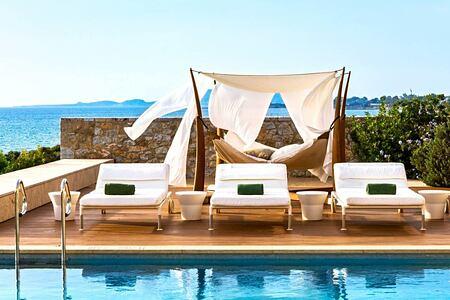 Koroni Royal Villa Pool at Romanos Costa Navarino Greece