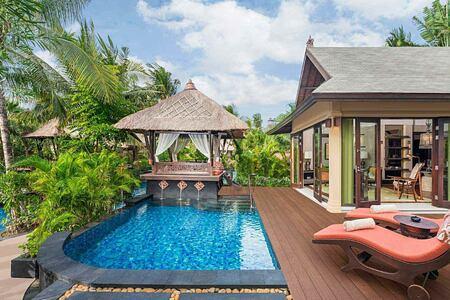 Lagoon villa at St Regis Bali Indonesia