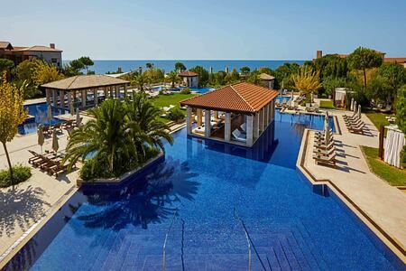 Large pool at Romanos Costa Navarino Greece
