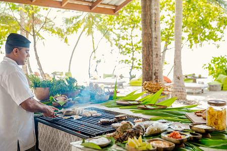 Lavadhoo BBQ at Como Maalifushi Maldives