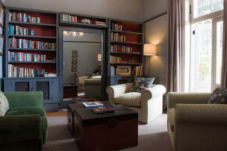 Library at Welgelegen Guesthouse South Africa