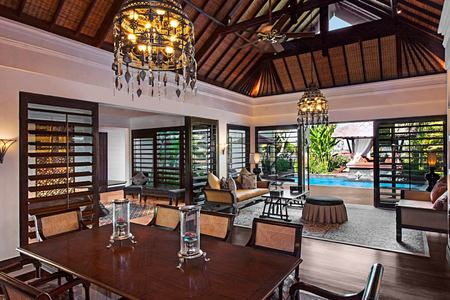 Living area at St Regis Bali Indonesia