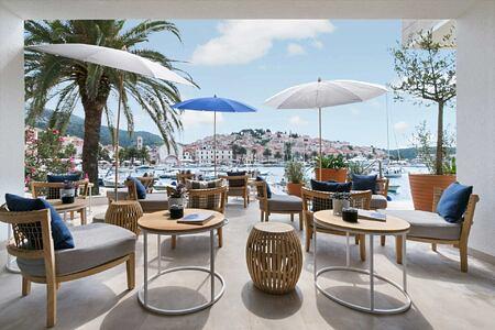 Lobby Bar at Adriana Hvar Spa Hotel Croatia